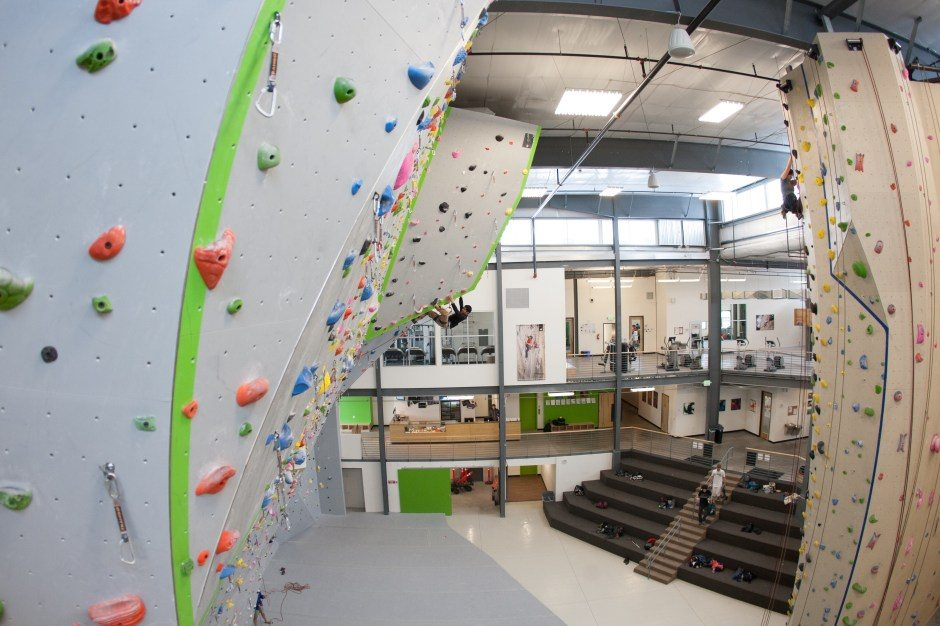 Structural Engineering Examples of our work indoor climbing wall fun exciting interesting SE jobs work variety